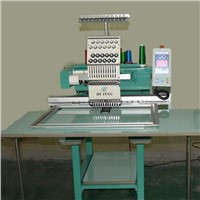 single head computerized embroidery machine for cap & t-shirt