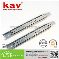stainless steel 3folds ball bearing telescopic drawer slides