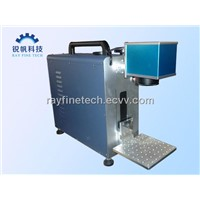 steel tube laser marking machine RF-F20W