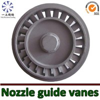 superalloy investment vacuum casting nozzle guide vane