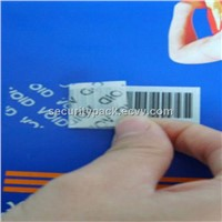 tamper evident auto adhesive labels and tapes