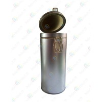 tinplate storage can seal pot for tea/powdered Milk,Sealing food packaging tank