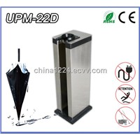 Single Hole Stainless Steel Umbrella Bag Dispenser