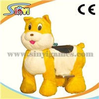 walking animal ride on plush toys coin operated kiddy rides battery animal rides