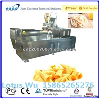 puffed crispy and  fried  salad bugles making machine