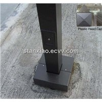 square light pole