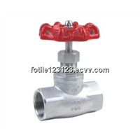 stainless steel globe valve thread end