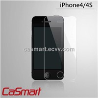 Premium Tempered Glass Screen Protector for iPhone 4S