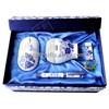 Blue and white porcelain USB flash disk and wireless mouse gifts kit