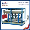 Electrical supply thermal oil heater