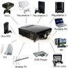 Full HD home theater USB LED video projector DG-757L for game movie DVD
