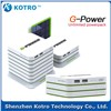 G Power Akku with Solar Panel for mobile phone charger in unlimited power capacity
