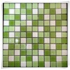 Glass mosaic wall tile 300x300x4mm