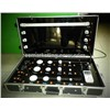 LED Lamps demo case show case led bulb display cupbard folded metal display case