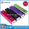 Universial 2200mah Lipstick Battery Charger Portable Power Bank