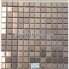 copper color stainless steel mosaic tiles decorate wall for kitchen,bathroom,shop,bar,hotel