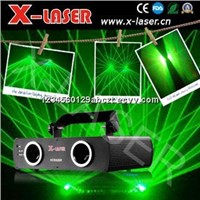 100mW Double heads Green laser for Disco lighting equipment