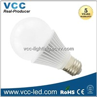 270 degree 2835 6W led bulb dimmable