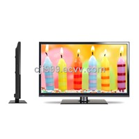 32-inch LED TV, Ultra-thin Design with DVB-T, ATSC, ISDB-T and Optional Analog TV