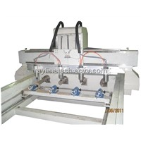 4 AXIS Rotary Relief CNC Router machineRF-1325-4
