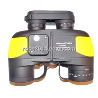 High Power 7X50 Military Binoculars with Compass and Rangefinder