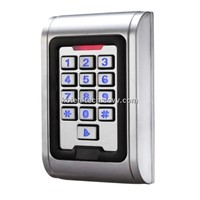 Metal Shell Waterproof Keypad Proximity Card Access Control Reader RF001