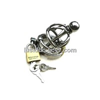 Latest design Stainless steel Massage beads chastity devices  CD-0003