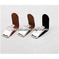 New Mini Leather 4GB 2GB 8GB 16GB USB Flash Mass Storage