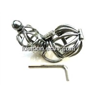 New Stainless Steel Wire Male Chastity Art Device/Cage/Cock ring/Sex toys /CD-0020