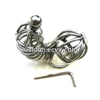 New Stainless Steel Wire Male Chastity Art Device/Cage/Cock ring/Sex toys CD-0021