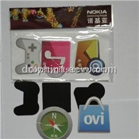 Promotion Gifts Glossy Lamination Fridge Magnet with customer logo(ZC-FM001)