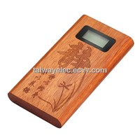 Promotional Gift , 2014 New Fashional Wooden Power Bank, Small Gift Portable Charger