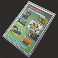QH-SF-004 PVC Color Page/ Plastic Laminated Colour page/Plastic Sealed Card