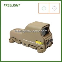 Quick Detachable 553 Type Red And Green Dot Sight Black Airsoft Scopes Sights Tan color