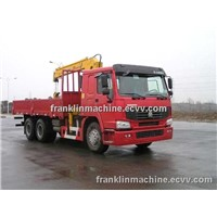 SELL/BUY China 10T MOUNTED CRANE TRUCK 6X4 cargo truck Uganda/Ethiopia/Djibouti