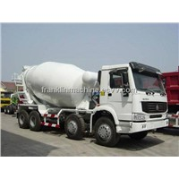 SELL/BUY Sinotruk HOWO Chassis 10cbm Concrete Mixer Truck 8x4 Uganda/Colombia/Chad