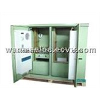 SPX3-RII02 Telecom Outdoor Cabinet with heat exchanger