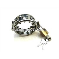 Stainless steel metal ball stretchers bondage gear Male (CD-0030)