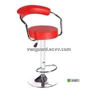 Leather Swivel Counter Bar Stool C-27