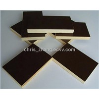 1200x1800mm 1200x2400mm Black Film Shuttering Plywood