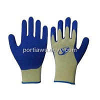 13G Cut-5  Para-Aramid fiber latex palm coated