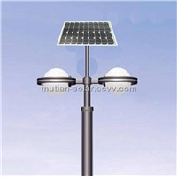 15W LED solar courtyard light for garden lighting