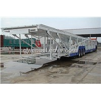 Vehicle transport semi trailer 15m or 18m with payload 60t , car carrier