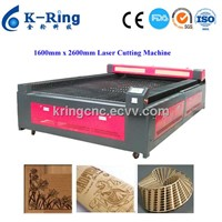 1600 x 2600mm plywood, mdf CO2 Laser cutting machine