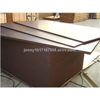 18mm poplar core black film faced plywood chinese /phenolic brown film faced plywood