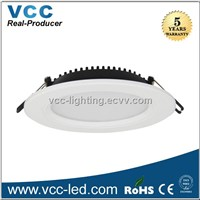 200mm cut out slim 8 inch recessed led downlight 18W