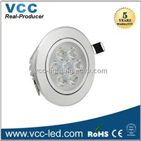 2014 5W 120V led downlight 500lm CE & Rohs