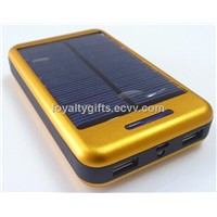 2014 New Arrival 10000mah solar power bank