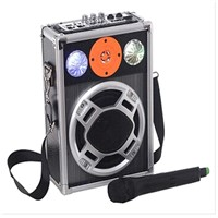 2014 Professional powerful outdoor speaker,subwoofer speaker with digitizer led light