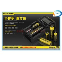 2014 new arrival NiteCore Intellicharge I2  Li-ion /Ni-MH Battery Charger